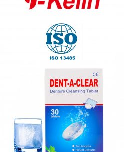 Y-Kelin DENT-A-CLEAR Denture Cleansing Tablets