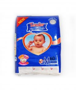 MINE BABY Medium Nappies 60pk