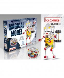 Iron Commander Meccano Style DIY Metal Robot- Model 816B-55
