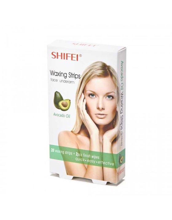 Avocado Oil Face Wax Strips