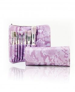 Cosmetic Makeup Brush Set + Purse