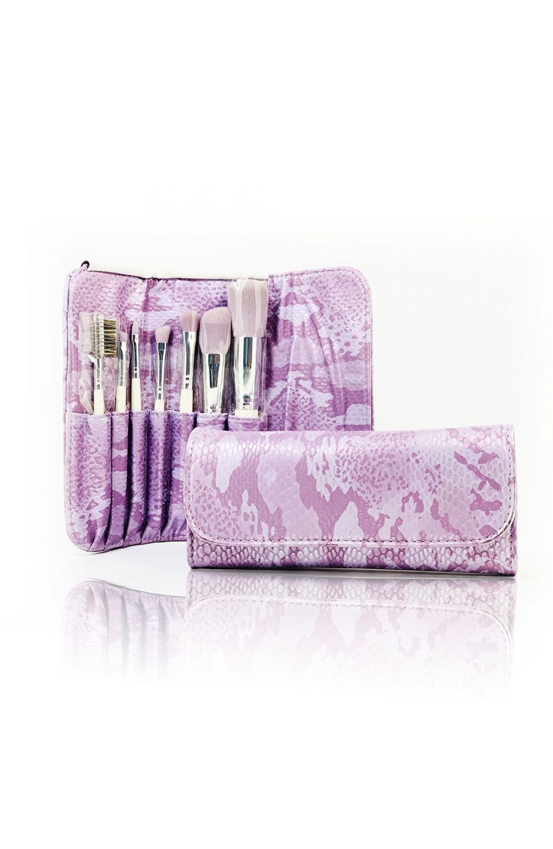 Cosmetic Makeup Brush Set + Purse