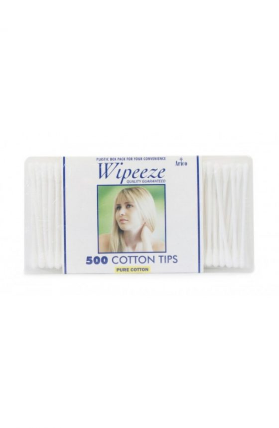 WIPEEZE Cotton Tips 500pk