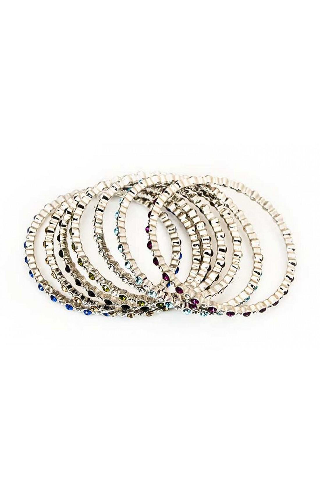 Rhinestone Bollywood bangles Indian bracelets