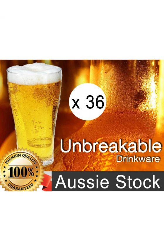 Unbreakable Polycarbonate Beer Glasses