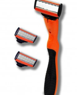 M5-Series Set // plastic handle + 2 razor cartridges