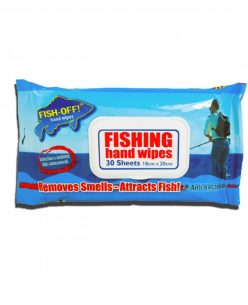 Fish-Off Hand Wipes // 30 wipes