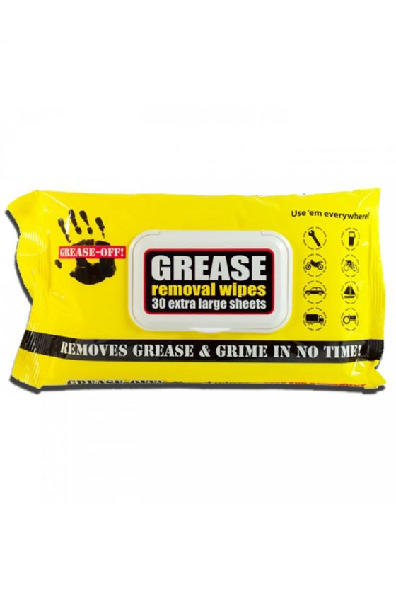 Grease-Off Wipes // 30 Extra Large Wipes // 1$ each