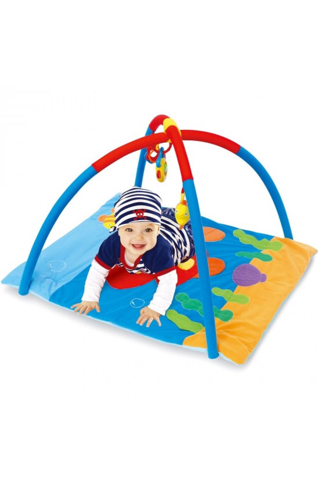 Baby Play Mat // Sea world design