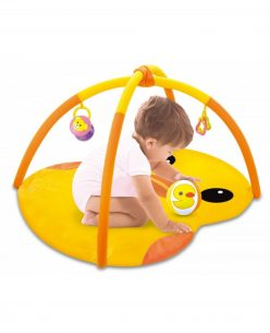 Baby Play Mat // Yellow duck design