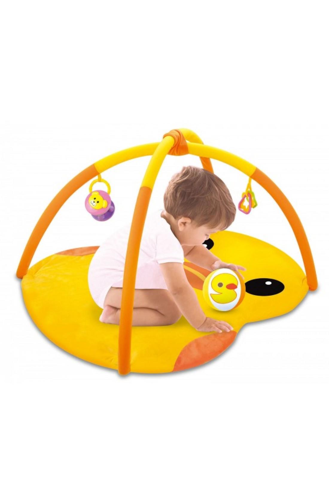 Baby Play Mat // Yellow duck design