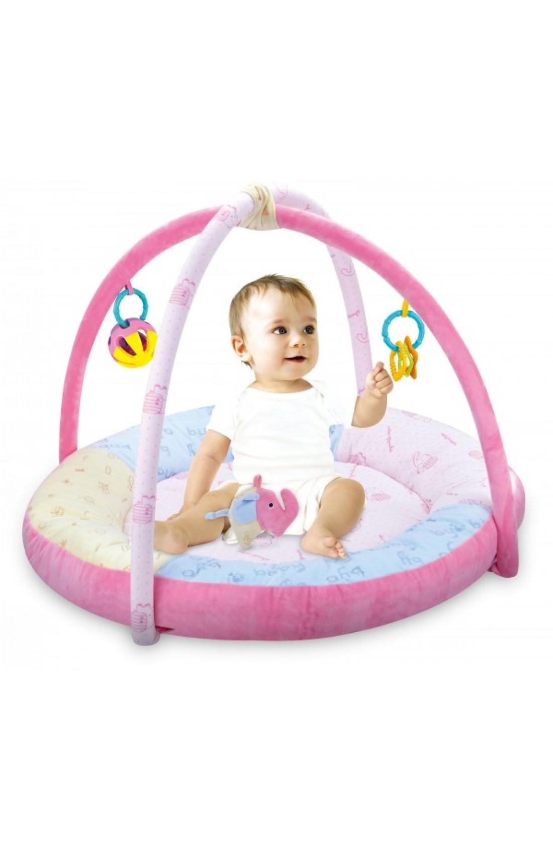 Baby Play Mat Activity Gym // Elephant design