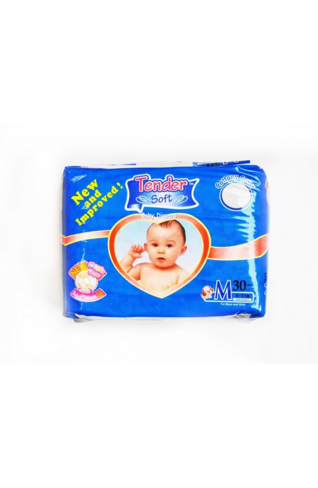 MINE BABY Medium Nappies 30pk