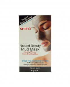 Shifei Deep Cleansing Facial Mud Mask for Normal to Dry Skin 6 x 8gr Masks
