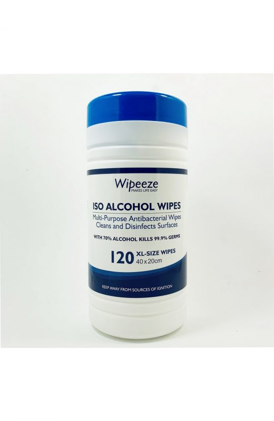 Extra Large ISO Alcohol Wipes