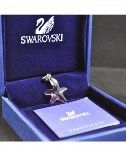 Swarovski Elements Crystal Purple Star Pendant
