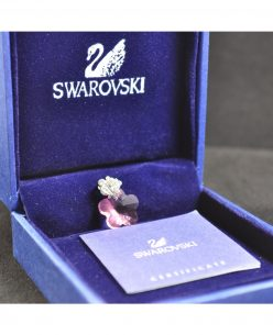Swarovski Elements Crystal Purple Butterfly Pendant