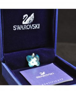 Swarovski Elements Crystal Blue Butterfly Pendant