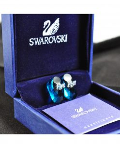 Swarovski Elements Crystal Navy Blue Shoes Pendant