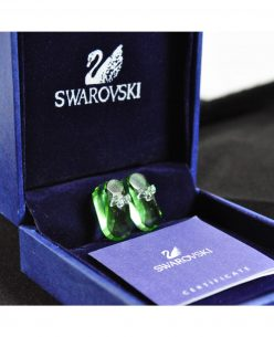 Swarovski Elements Crystal Green Shoes Pendant