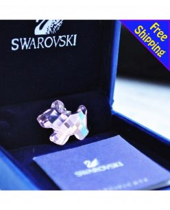 Swarovski Elements Crystal Little Red Dog Pendant