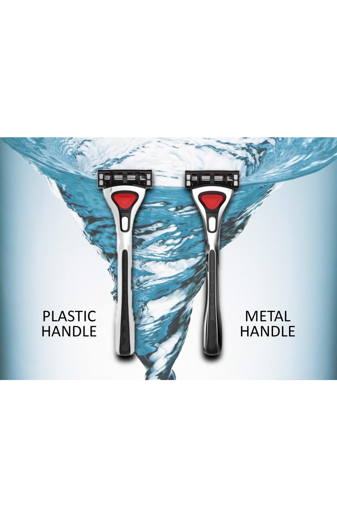Schick Hydro Compatible Razors Plastic Handle Set