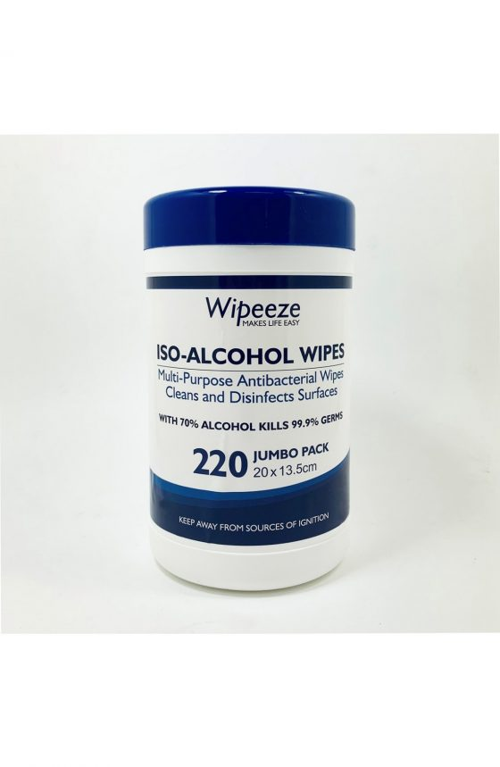 ISO Alcohol Antibacterial Disinfecting Wipes